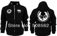 Warmth!!!-- MMA  Wend Team Hoodies--Black