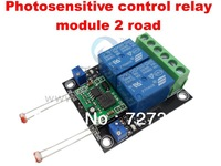 Wholesale & Retail,shipping2 road light sensor sensor module, step-down module, a control relay module
