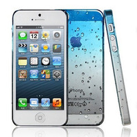 hot sell!waterdrop unique design fashion back cover for iPhone 5 5s  case raindrop 2013 new arrival cases