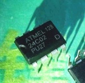 Free Shipping 200pcs/lot AT24C02 24C02 ATMEL DIP-8 IC(China (Mainland))