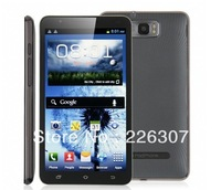 "Original Android Phone MTK6577 1.0GHz dual core cell phone 6"" 2 SIM Duad core 256MB RAM 4G ROM 8.0MP Camera"