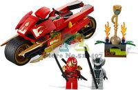 Without Original Box Ninjago Building block Ninja Kay wheel motorcycle Block Toys Free Shipping