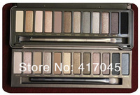 sg post shipping 2014 new 12 hot sale Colors NK 2 Eye shadow Palette Professional Color Eye Shadow Powder Palette Makeup Set