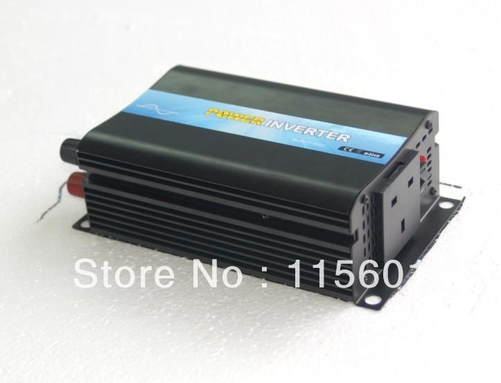300w 12v to 240v British Sockets Solar Wave Inverter Off-Grid Tie Type, dc ac Inverter 300watts(China (Mainland))