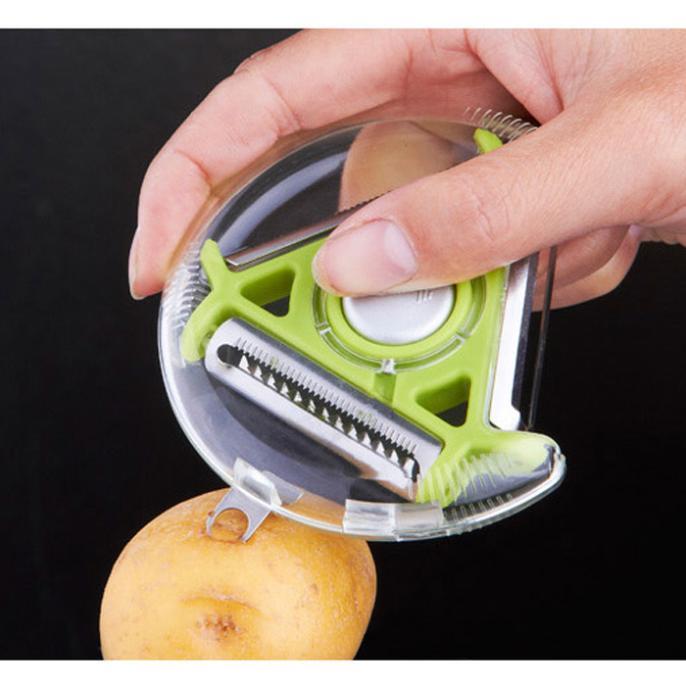 Fruit vegetables peeler plastic Gadget peeling portable Home Kitchen Tools J