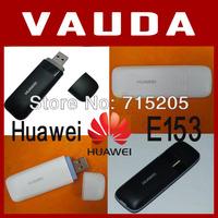 Huawei E153 HSDPA 3G SIM Card USB 2.0 Wireless Modem Adapter with TF Card Slot - White,Free Shipping  E1550  E1750