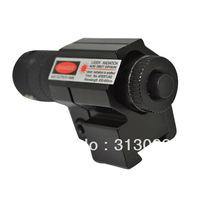 YY  New 11mm good quality red laser sight point sighting telescope battery black L0360