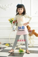 2014 Promotion Rushed Solid Cotton Wholesale Freeshipping 5pcs/lot Fashion Stripe Paragraph Girls Clothing Baby Culottes Legging