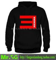 free shipping eminem hoodies sweatshirt men 100% cotton sweatshirt eminem mr . vg hoodie