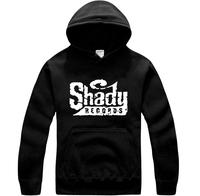 I love eminem free shipping eminem hoodies sweatshirt Fashion set  em shady sweatshirt pocket hat shirt