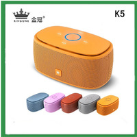 Free Shipping! KINGONE K5 Portable Wireless Mini Bluetooth Speaker for iPhone for HTC for SAMSUNG for Nokia for tablet pc