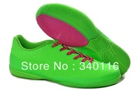 Free shipping!2014 Futsal indoor soccer shoes and men indoor soccer shoes