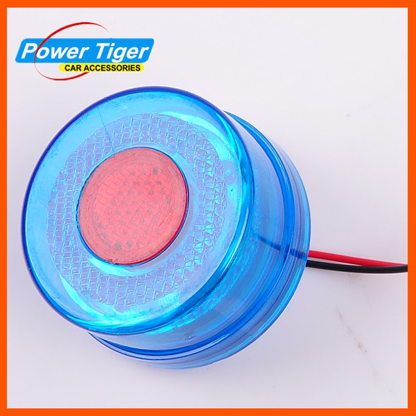 New 2013 Round Truck Trailer Lights LED Stop/Turn/Tail Light Car Led Lamp Round LED Truck Tail Lamps 24V LED Truck Light(China (Mainland))