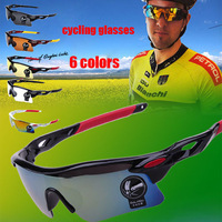 2pcs 10% off! 2014 New arrival cool Polarized Cycling Sunglasses Eyewear&Outdoor Sports Bicycle Glasses 6colors free shipping!