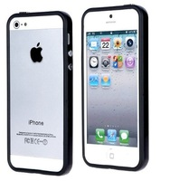 2013 Brand New Mini Bumpers for iphone 5 Black High Quality Dirtproof  Wholesale Waterproof Free Shipping
