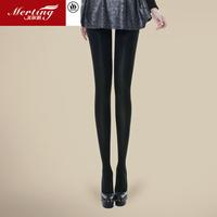 Rommel stovepipe socks 880d plus velvet fat burning autumn and winter legs socks silk pantyhose socks female