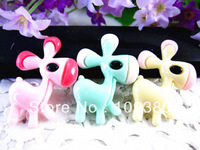 New arrival resin donkey for hair necklace decoration 30pcs/lot free shipping stock resins