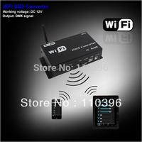dc 12v wifi converter,convert wifi signal into dmx signal led lamp dimmer controller