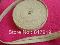 Width 2.5cm, cotton flat lamp wick, Alcohol, kerosene, oil lantern, 10 meters of each roll, 100% cotton