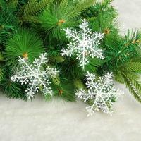 Christmas tree decoration snowflakes christmas 3 decoration pendant