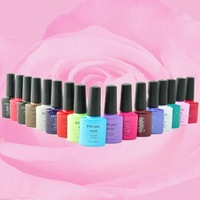 the glue the hot selling colored gel with high quality roniki UV and LED soak off gel polish
