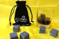 Free Shipping 9 pcs/set Cooling Ice Cube Rock Whiskey Stones