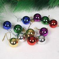 Light blended-color ball christmas tree decoration ball Christmas gift Christmas