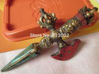 Old Tibetan Buddhism Buddhist Ritual Magic Tool Hand Vajra Dorje