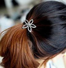 wholesale black flower headband