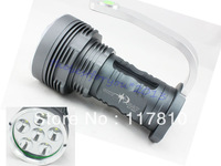 SKYRAY King 8500lm Lumen 6x CREE XM-L 6T6 LED Flashlight Torch 40W High Powe Quality ensurance LED Lamp