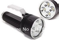 Latest Super Bright Diving Flashlight 7800lm 4xCREE XML L2 LED Flashlight Torch Underwater Lamp+Charger