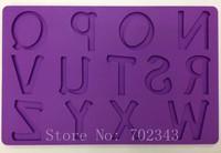 Silicone Cake Mold 13 Alphabets/Letters Shape Fondant&Gum Paste Mold Decorating N-Z