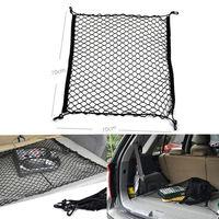 Car Truck Rear Cargo Net Storage Bag Luggage Organizer Hook Pouch nylon For SUV VW Passat B5 Audi Free shippiing