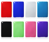 Colorful Soft Silicone Matte Case Cover Skins for Apple iPad Mini 7.9 inch Tablet Accessories Free Shipping