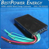 Free Shipping AC12V or AC24V Micro Wind Charge Controller for 100W 200W 300W 400W 500W 600W Wind Turbine Generator