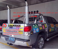 TOYOTAtundra TUNDRA 2005-2012 Stainless Steel Roll Bar (3mm thick for the stainless thickness ,strong and with chrome)