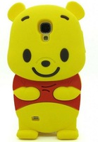 Cartoon 3D Lovely bear Soft Silicone Case Cover Protective Skin for Samsung Galaxy S4 S IV I9500