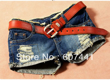 2014 fashion designer women jeans lady shorts pants garment 9616(China (Mainland))