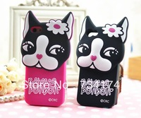 New 2013 phone cover for Iphone 5C case Silicon cute 3D cartoon soft slim Waterproof free screen protector