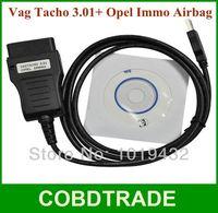 Nice Price!!Vag Tacho 3.01+opel Immo Airbag Tacho USB Cable OBD2 Auto vag Diagnostic tool VAGTACHO USB 3.01 for VAG and Opel