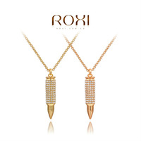 2014ROXI fashion jewelry, clear Austrian crystal, women necklaces.,Mosaic man-made necklaces,Chrismas/wedding gift,2030043705A