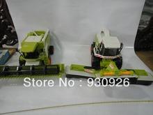 Original MC 6366 farm set Combine harvester car model highly detailed boys kids early educational toys gift  farming playset(China (Mainland))