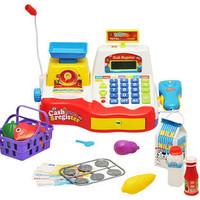 Pentastar child supermarket cash register cash desk set toy