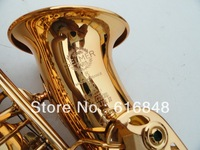 France Copy Henri selmer E alto saxophone Super action 80 series II gold surface