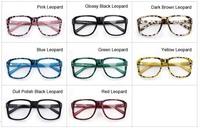 Three nails Unisex Leopard Hot frame glasses, empty frame sunglasses, do degree sunglasses