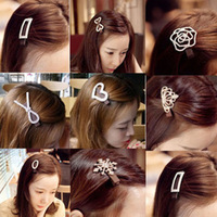 Hair accessory bow hairpin clip bangs hair pin clip the bride hair accessory