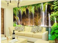 Large tv mural wallpaper 3d wallpaper landscape plan decorative landscape painting
