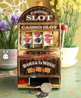 Fruit slot machine piggy bank novelty items birthday gift Slot Machine Liquor Bar CARD-TEC CL2