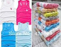 Hot Sale New Fashion Kids Summer Vest Brand Children Cotton 5pcs/lot Boy's Tee Shirt Clothing FREE sHIP