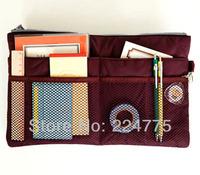New Cosmetic Makeup Dual Organizer Mp3 Phone Storage Bags in Bag Handbag Purse